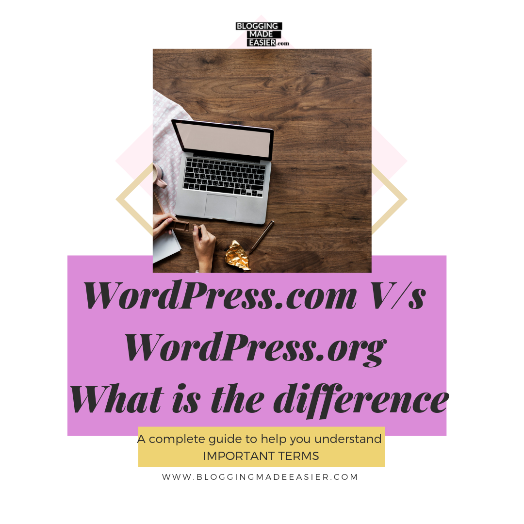 WordPress.com versus WordPress.org what they mean what is the difference
