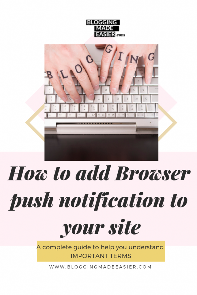 How to add Browser push notification in your site