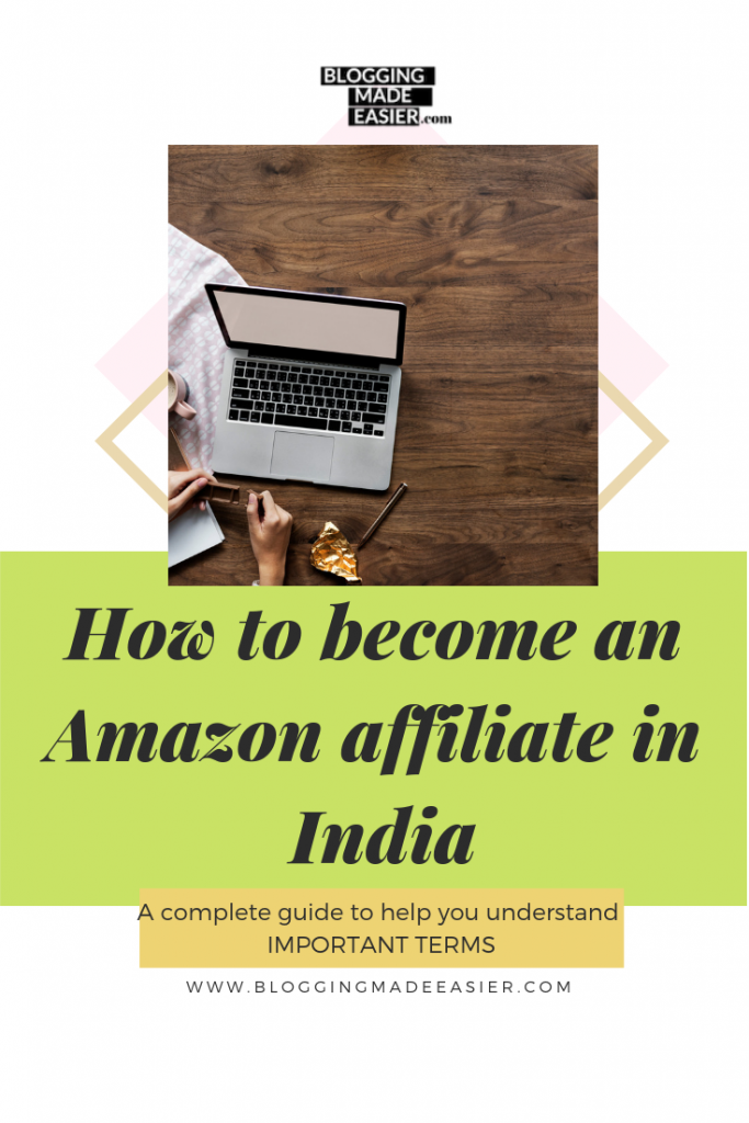 How to become an Amazon affiliate in India