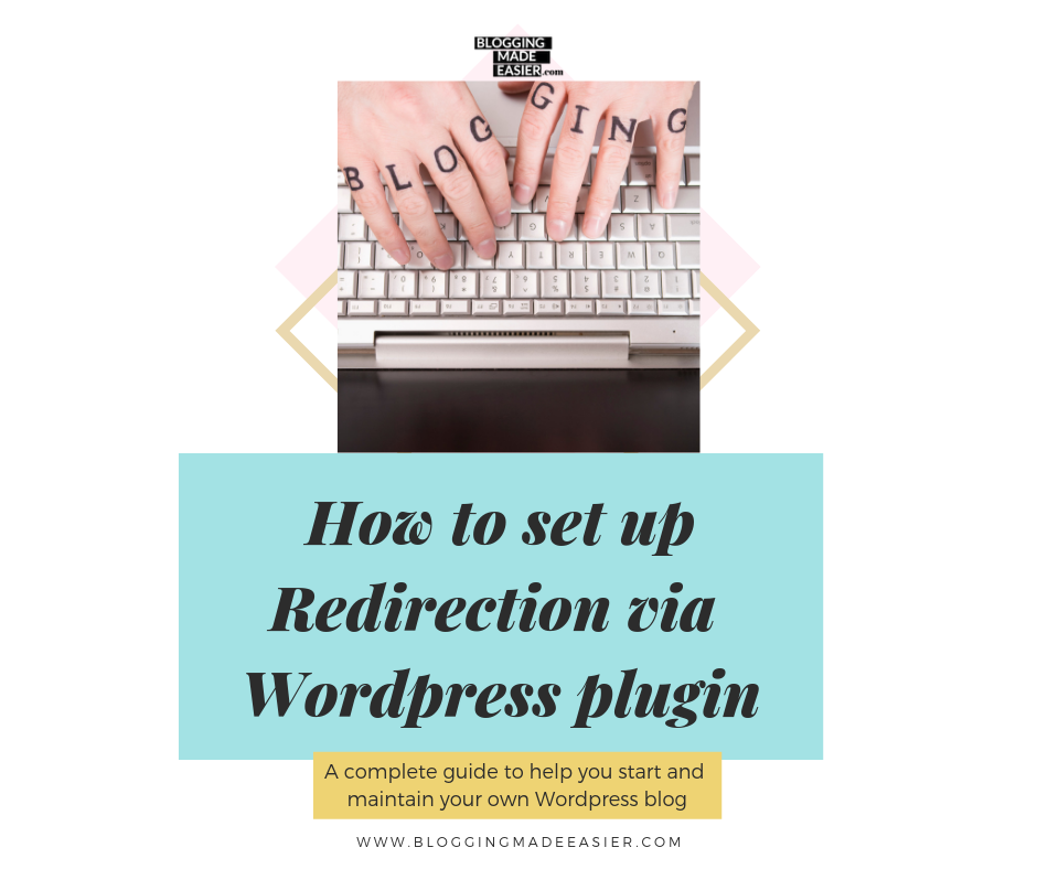 How to set up Redirection in your blog in less than a minute (Redirection WordPress plugin)