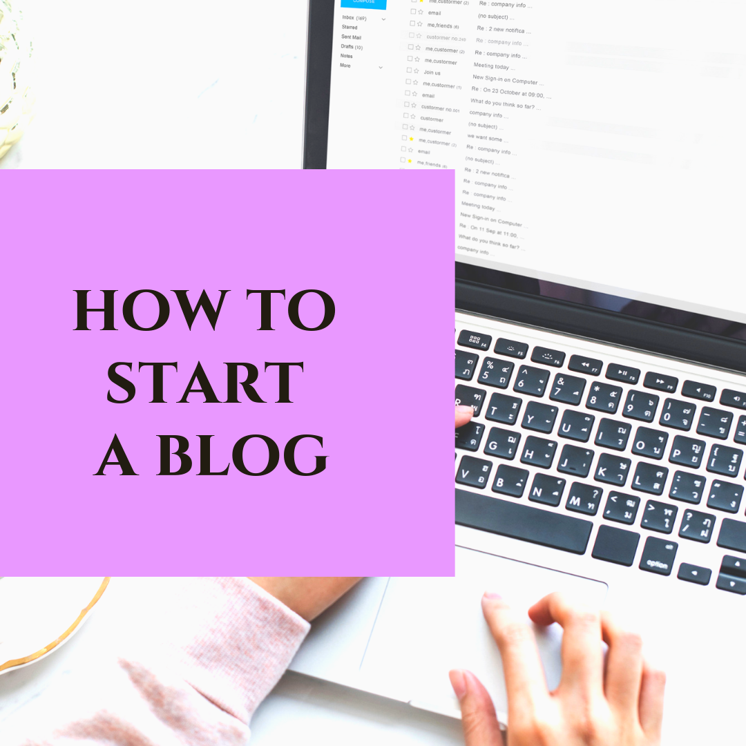 How to start a blog website