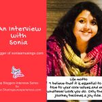 Meet Sonia from Soniamusings.com- Top Indian Bloggers Interview Series