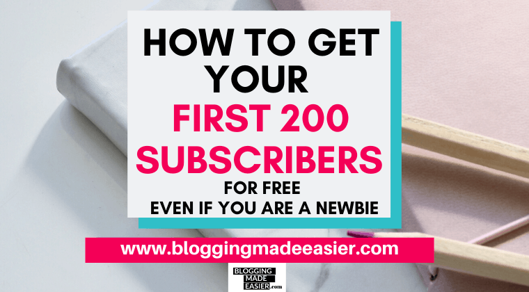 How to get email subscribers for FREE email marketing basics
