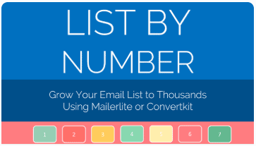 How to grow your email list using Mailerlite and Convertkit