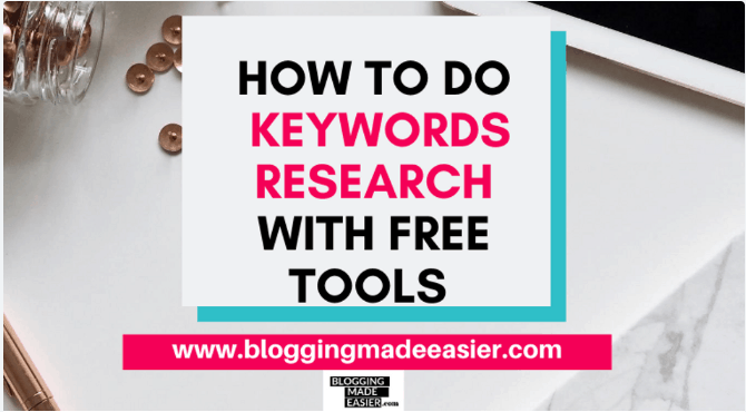 How to do Keywords Research using FREE tools